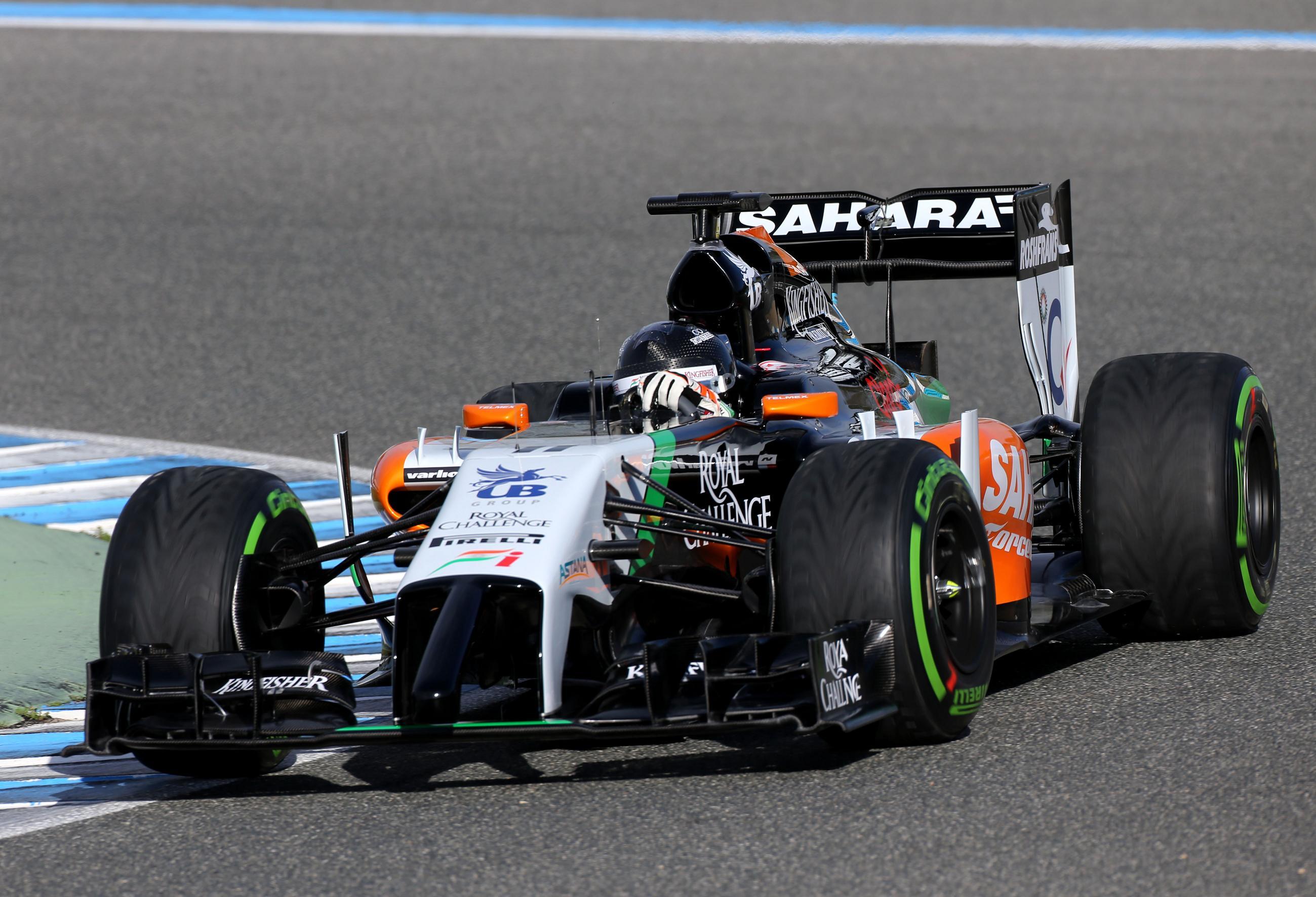 Force India: Pérez kezdte meg a VJM07 betörését