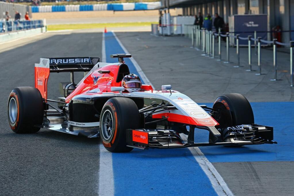 Bemutatkozott a 2014-es Marussia: Képeken az új F1-es autó
