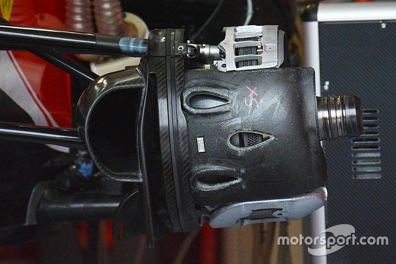 Tech update: Ferrari focust zich op temperatuurmanagement