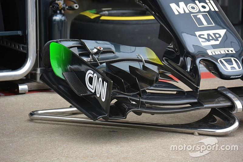 Технічний брифінг: переднє антикрило McLaren MP4-31