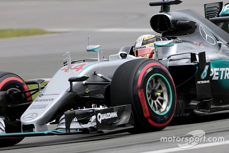 F1カナダGP FP1レポート:メルセデス盤石1-2。別れたタイヤ選択に、レースは難解の予感