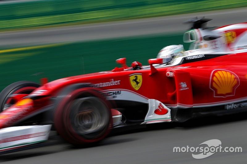 EL2 - Vettel intercalé entre Hamilton et le reste du monde