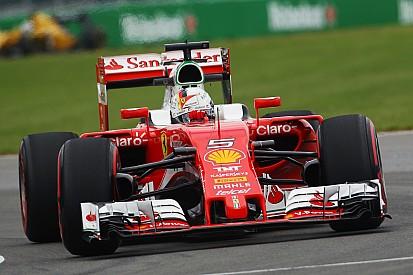 """Vettel: """"Las piezas nuevas parece que funcionan"""""""