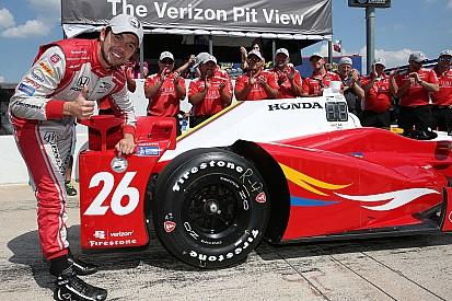 Muñoz logró su primera pole en IndyCar