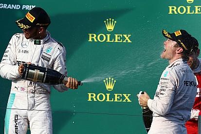Wolff - Dans 30 ans, le duel Hamilton/Rosberg sera légendaire
