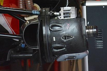 技术短文:法拉利SF16-H前轮制动部件