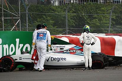 Hamilton responde a Massa ironizando sobre su accidente