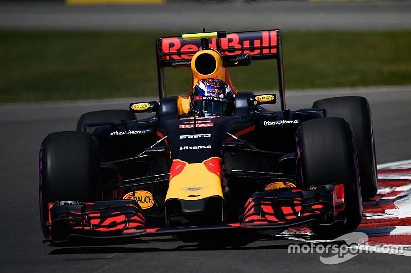 Verstappen tweede in derde training Canada, harde crash voor Magnussen