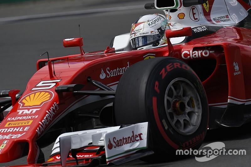 Vettel manda en una FP3 acortada
