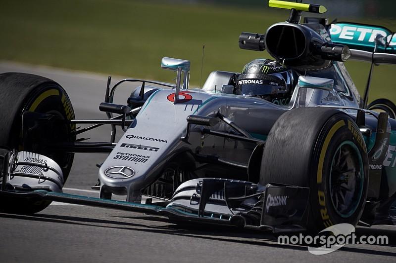 Rosberg devra dépasser Hamilton pour remporter le GP du Canada