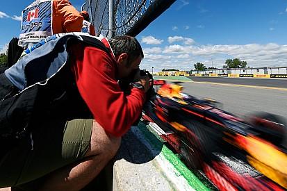 """Ricciardo dio al Muro de los Campeones """"un gran beso"""""""