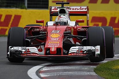 Vettel se disculpa con el equipo pese a una gran clasificación