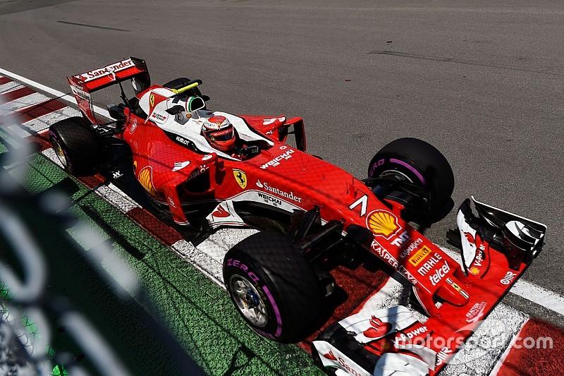 Räikkönen en souffrance au freinage de l'épingle
