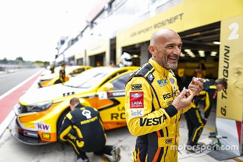 Тарквини принёс Lada первую победу в сезоне