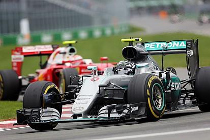"""Rosberg - """"Lewis a fait une manœuvre très rude"""""""