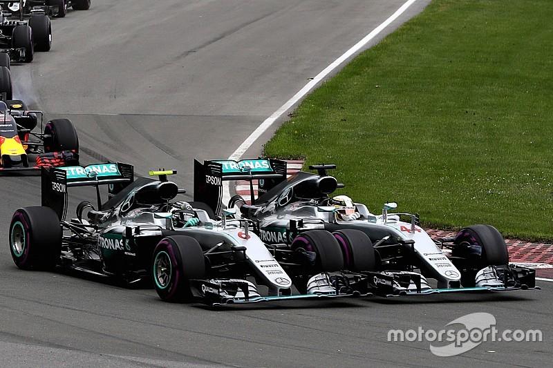 """Rosberg admitió """"enojarse"""" con Hamilton"""