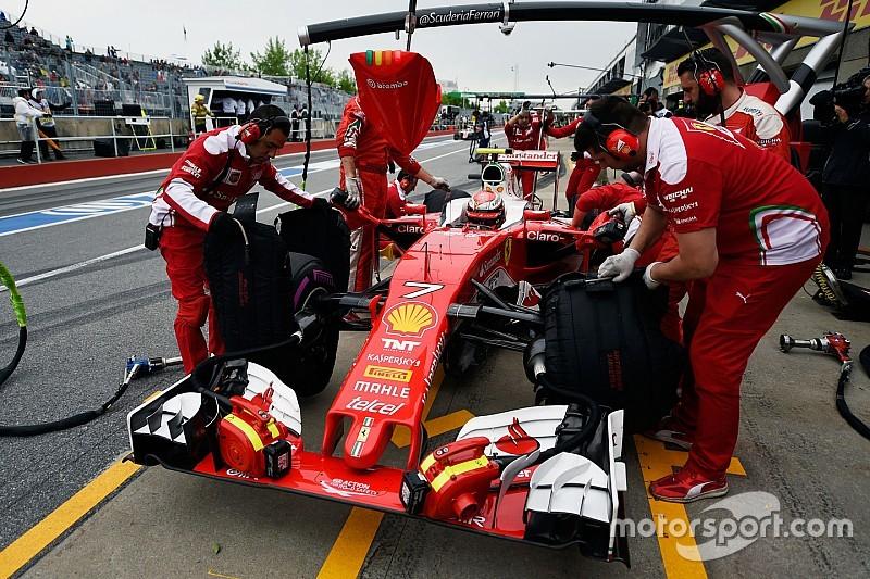 """Räikkönen """"en grande difficulté"""" avec les pneus"""