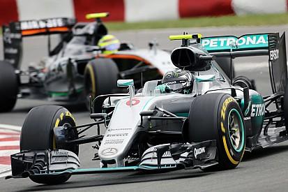 """Rosberg: """"La maniobra de la salida fue bastante dura"""""""
