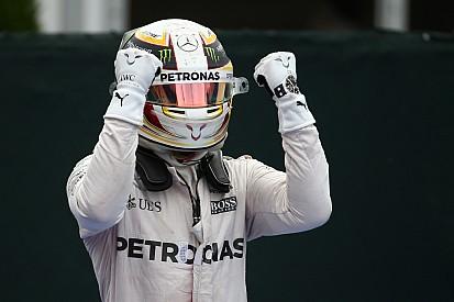 """Feliz com vitória, Hamilton alerta: """"Temos trabalho a fazer"""""""