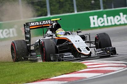 Sergio Pérez suma puntos en su carrera 100