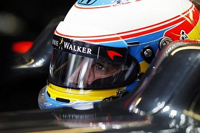 Alonso, emocionado ante el reto de Bakú