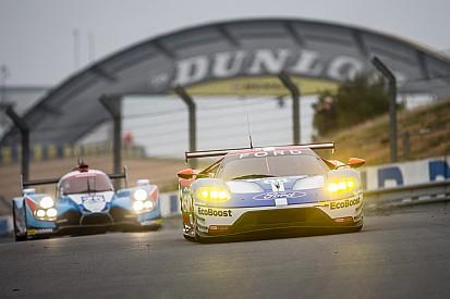 Le pilotage en qualifications et en course reste similaire au Mans