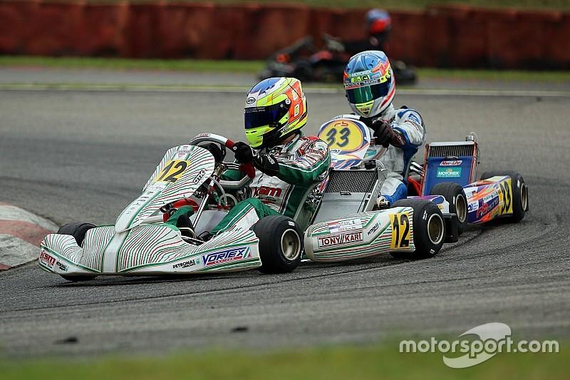 DKM Ampfing: Tony Kart mit Doppelerfolg durch Viscaal und Simmenauer
