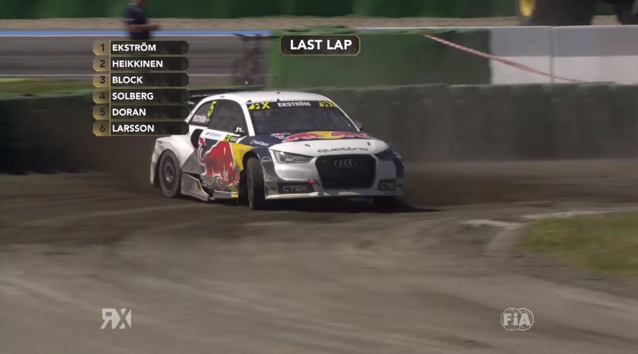 Ez az igazi autóverseny: nézd vissza a WRX hockenheimi fordulóját!