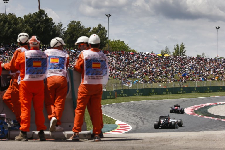 GP2: durva baleset Barcelonában