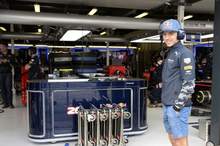 A Red Bull tehetsége lemásolta Massát Monacóban: BUMM