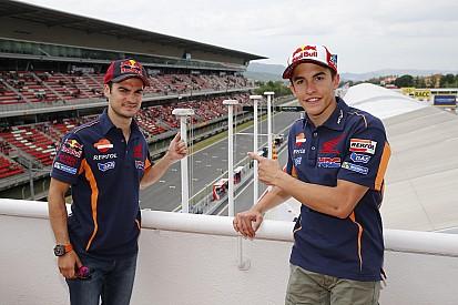 Márquez y Pedrosa ruedan en el Red Bull Ring con una RC213V-S