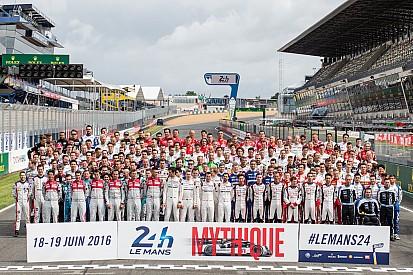 Lista completa de participantes de las 24 horas de Le Mans 2016