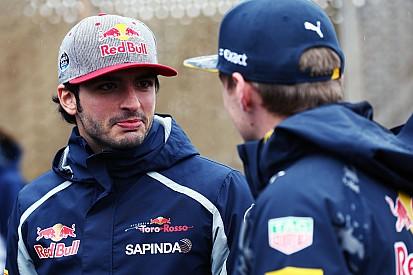 Sainz - Le départ de Verstappen, une bonne chose pour Toro Rosso