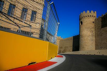 El circuito de Bakú en imágenes