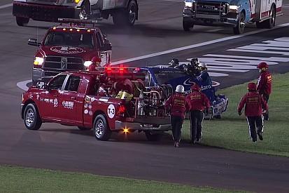 Egy újabb nagyon látványos baleset a NASCAR-ban