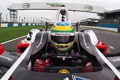 Formula E: Így teszteli az új gépet Bruno Senna