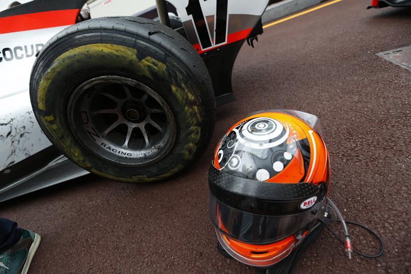 GP2: Ismét levegőbe repült egy autó Monacóban