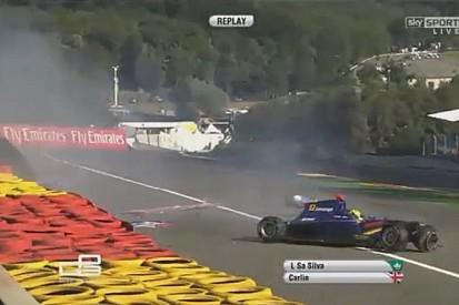 GP3: Komolyabb autótörés Spa-ban