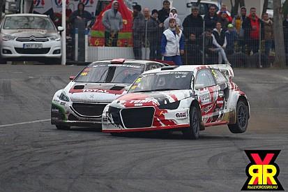 Rallycross a Rabócsiringen: amikor a nyuszi piros tojás helyett sok izgalmat hozott