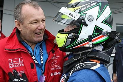 Kiss Pál Tamás boldog, hogy párszor legyőzte az AutoGP idei bajnokát