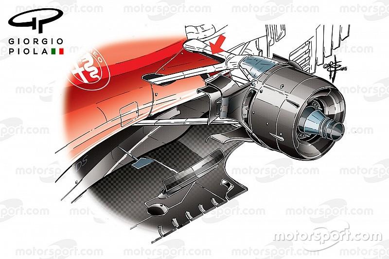 Teknik İnceleme: Ferrari'yi savaşa döndüren güncellemeler