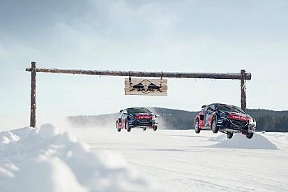 Loeb újabb szakágban, teljes évet fut a WRX-ben: videón, ahogy hajtja az 550 lóerős Peugeot-t!