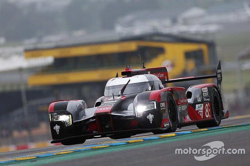 Le Mans: Audi nach 2 Stunden vorn, ByKolles-Auto brennt