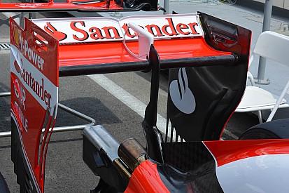 Technique - L'aileron arrière de la Ferrari SF16-H