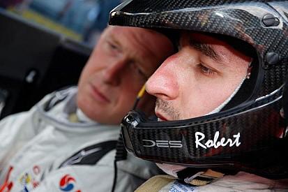 Kubica és a Colin McRae trófea