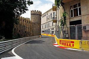 Formula 1 Son dakika Güvenlik aracı ile Bakü'nün dar virajlarından görüntüler