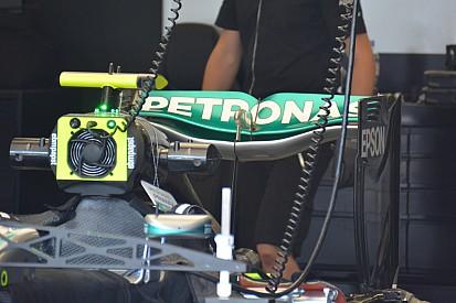 Technique - L'aileron arrière de la Mercedes W07