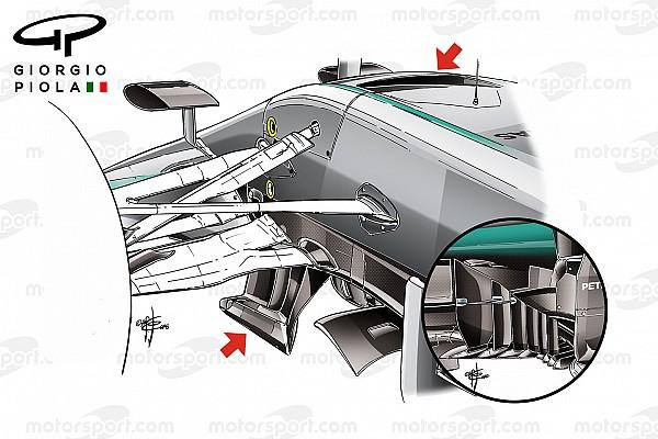 Análise Técnica: o desenvolvimento contínuo da Mercedes