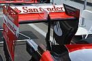 Breve análisis técnico: Ala trasera del Ferrari SF-16 H