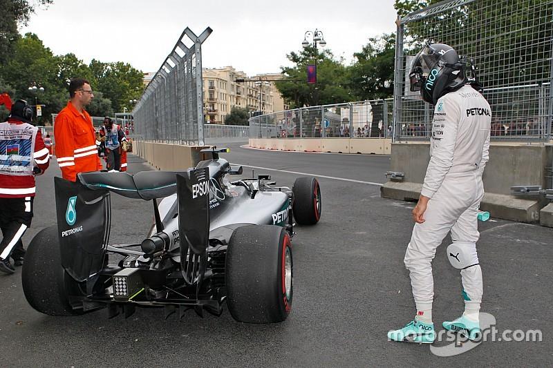 EL2 - L'Azérie noire se poursuit pour Rosberg